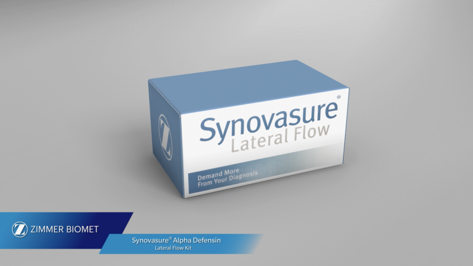 Synovasure Alpha Defensin Lateral Flow Test